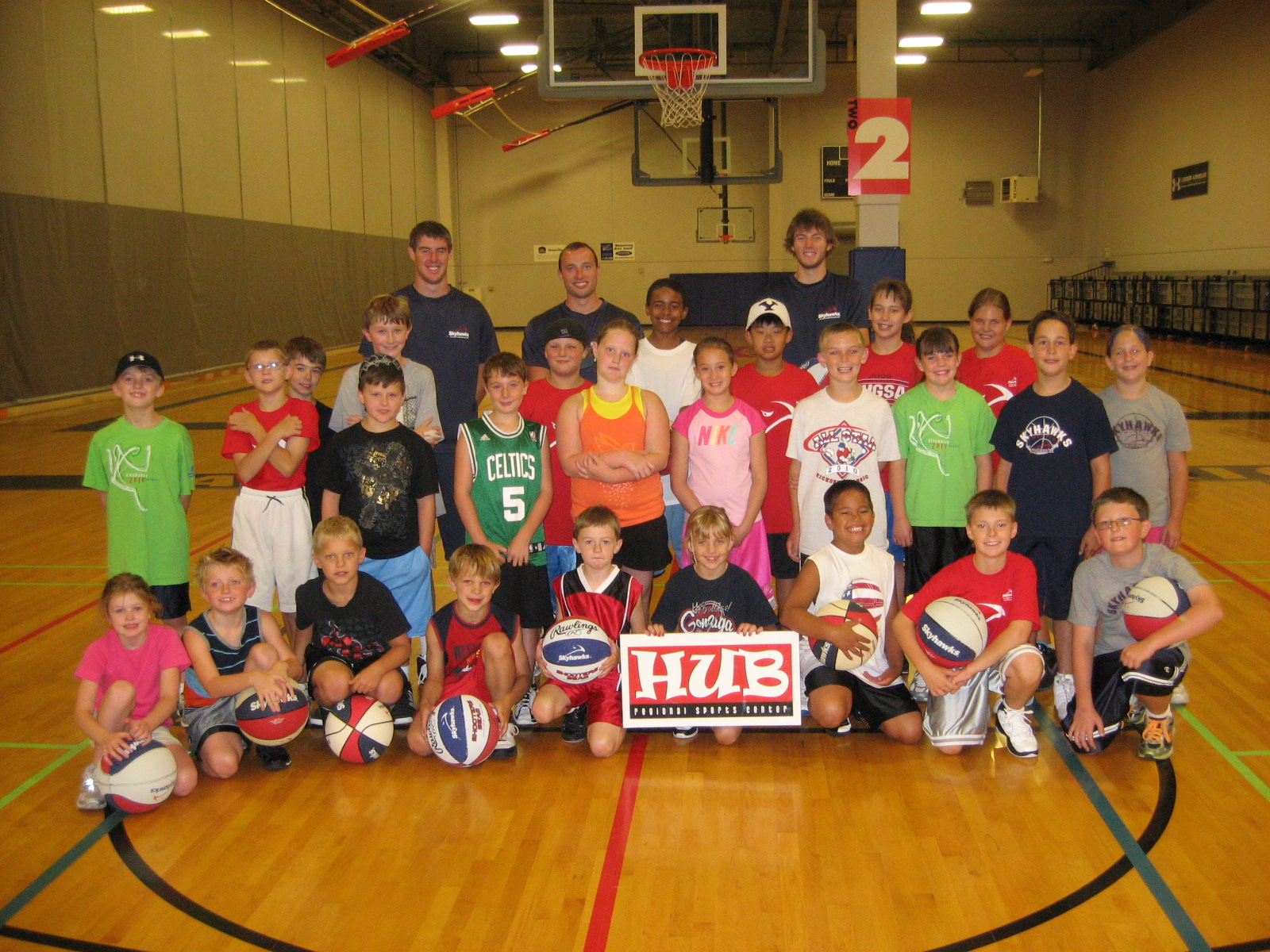 Summer Camp HUB Sports Center Spokane Liberty Lake Basketball