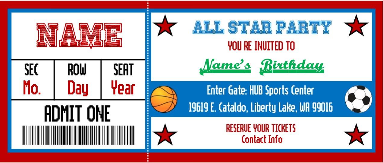 Birthday Parties - Hub Sports Center