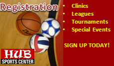 Registration camps clnics tournaments leagues spokane liberty lake HUB Sports Center