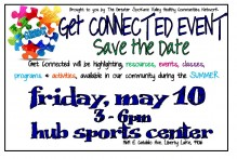 Get Connected Community Resource Fair @ HUB Sports Center