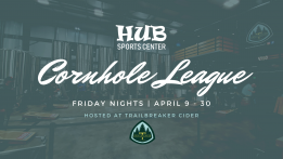 HUB Cornhole League @ Trailbreaker Cider