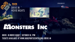 Drive-In Movie: Monsters,Inc @ HUB Sports Center