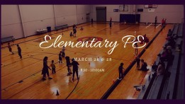 Elementary PE Classes @ HUB Sports Center