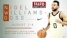 Nigel Williams-Goss Youth Skills Camp 2021 @ HUB Sports Center